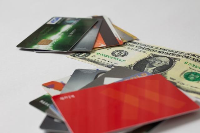 現金やカード類