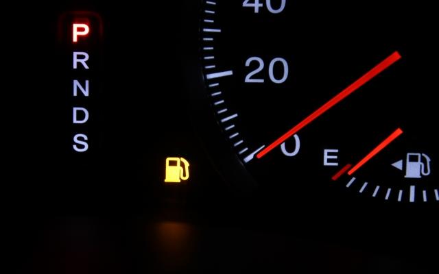ガソリンランプ点灯
