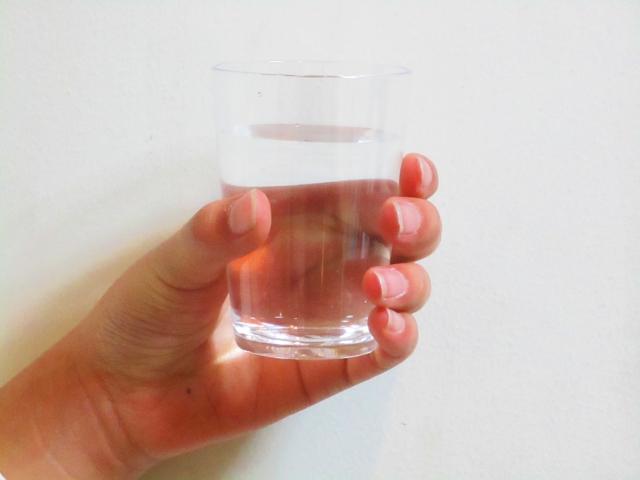 コップ1杯分の汗
