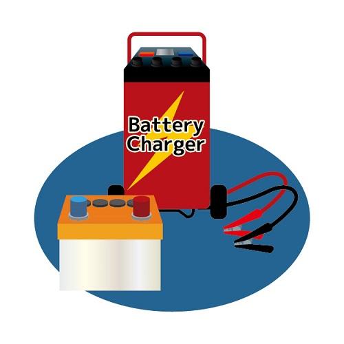バッテリーを充電する方法