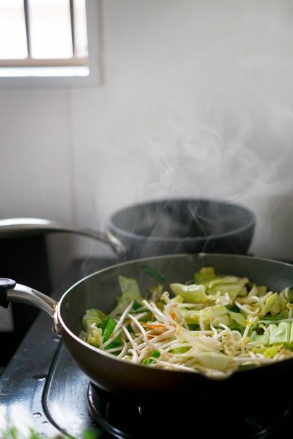 湯気が出る料理