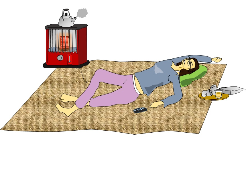 石油ストーブつけっぱなしで寝る
